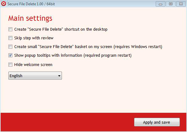 CompuRocket Secure File Delete Screenshot 3