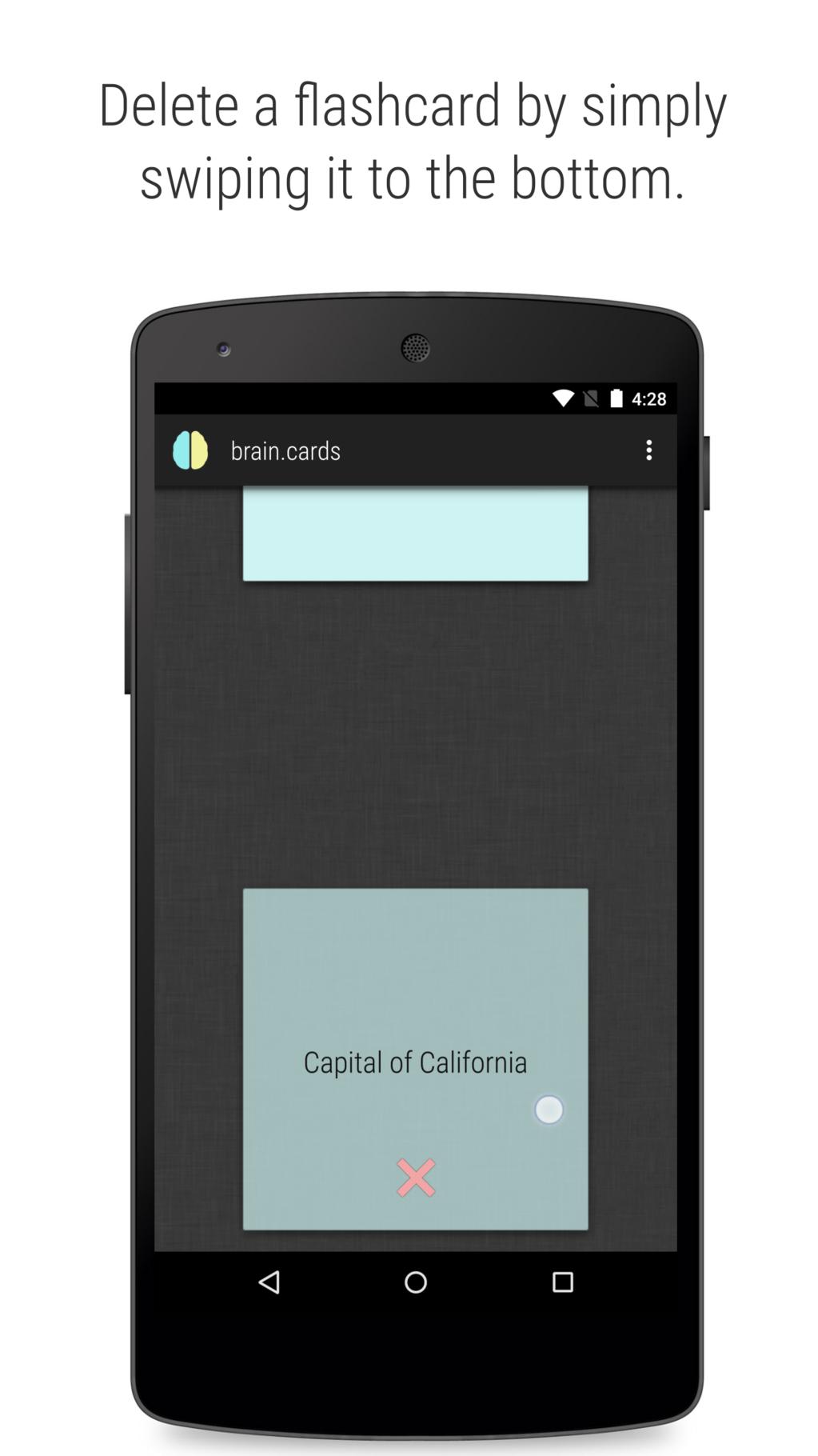 brain.cards flashcards Screenshot 9