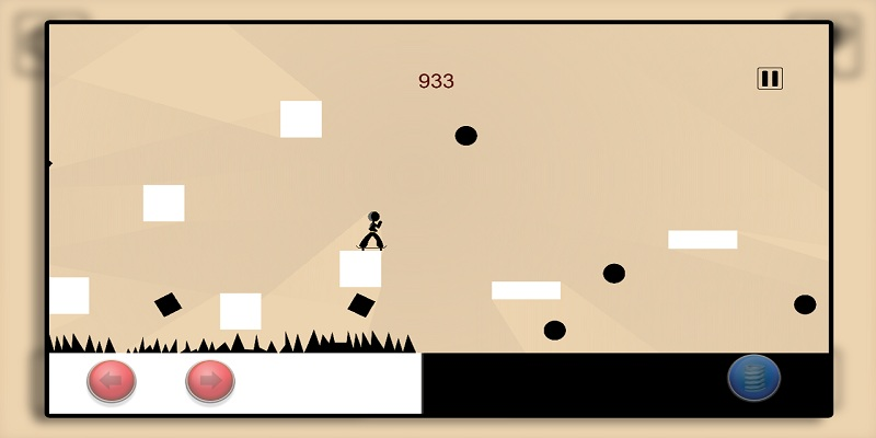 Ace Stickman Skater Free Screenshot