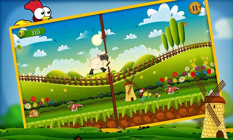 Lucky the sheep - Farm run Screenshot 3