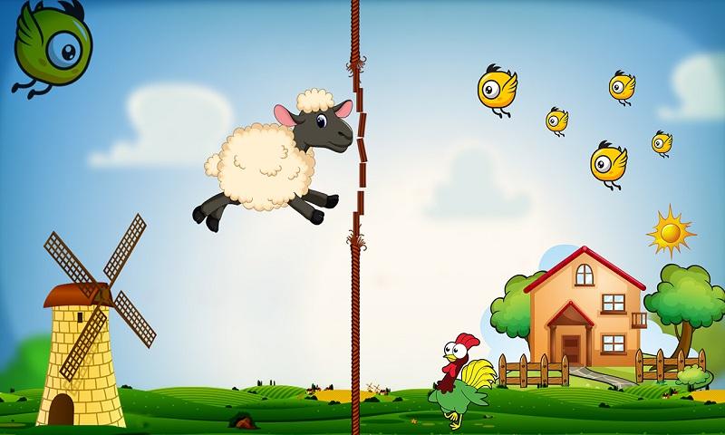 Lucky the sheep - Farm run Screenshot 4