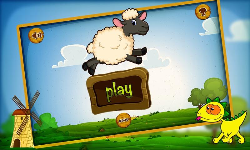 Lucky the sheep - Farm run Screenshot 2