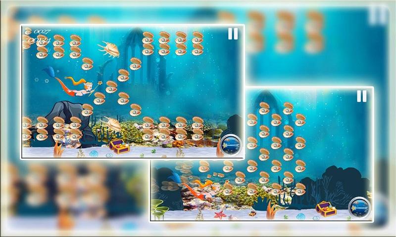 Adorable Little Mermaid Princess in Fish Paradise Screenshot 2