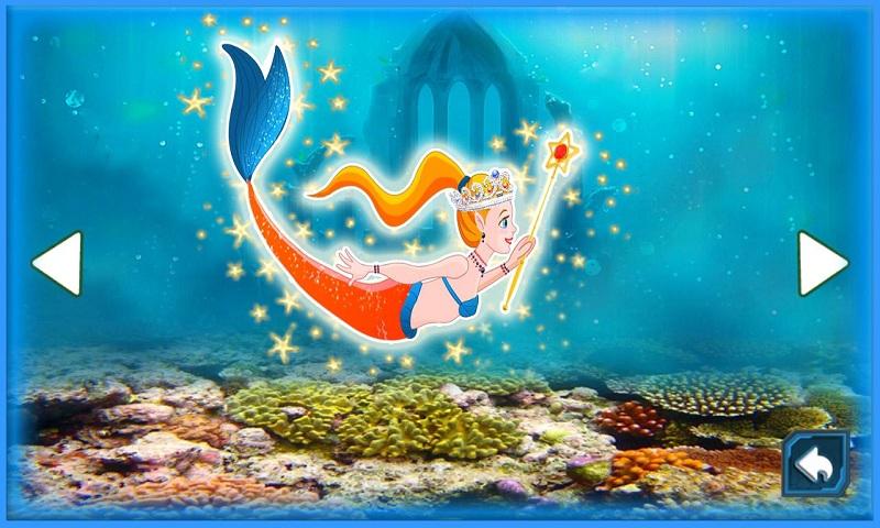 Adorable Little Mermaid Princess in Fish Paradise Screenshot 3