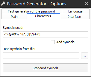 ReGen - Password Generator Screenshot