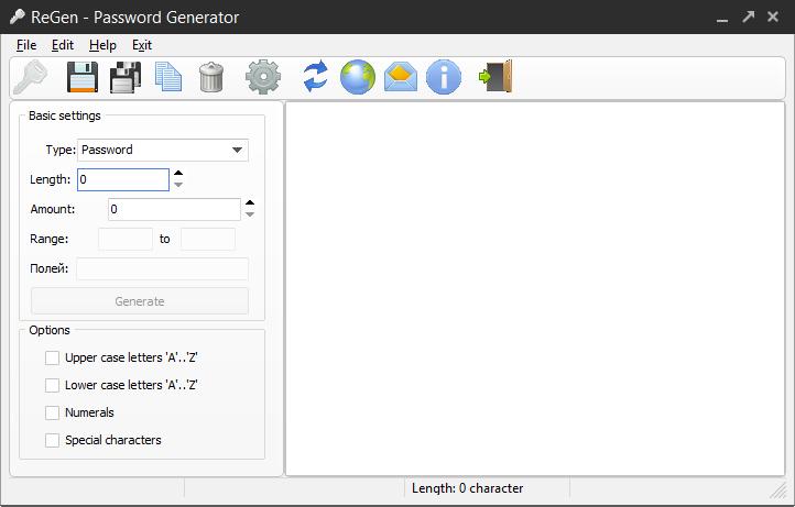 ReGen - Password Generator Screenshot 4