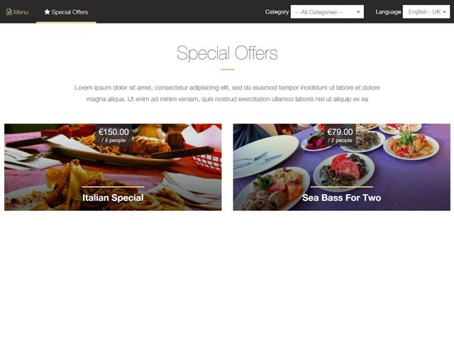 Restaurant Menu Maker by PHPJabbers Screenshot 3