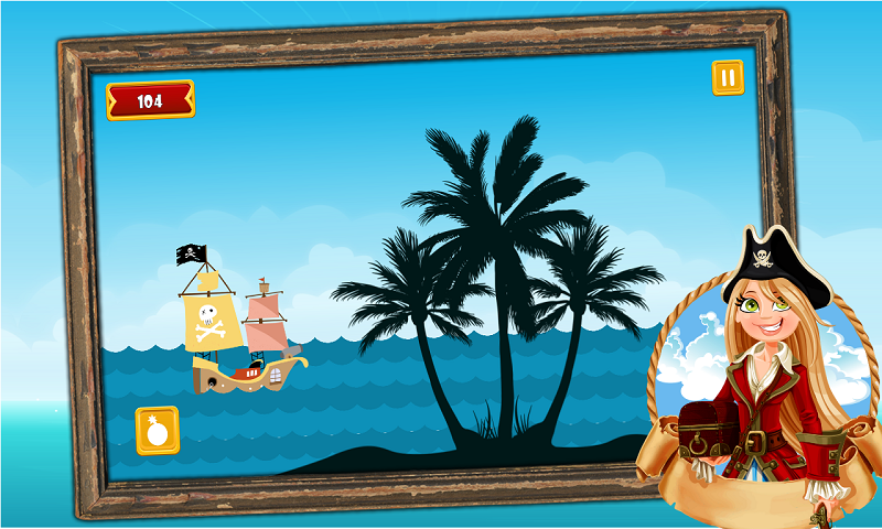 Caribbean Sea Pirates : A War Screenshot 2