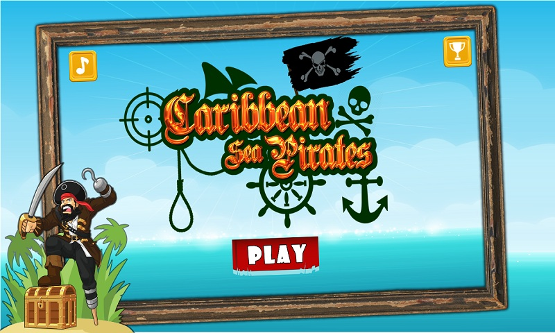 Caribbean Sea Pirates : A War Screenshot 1