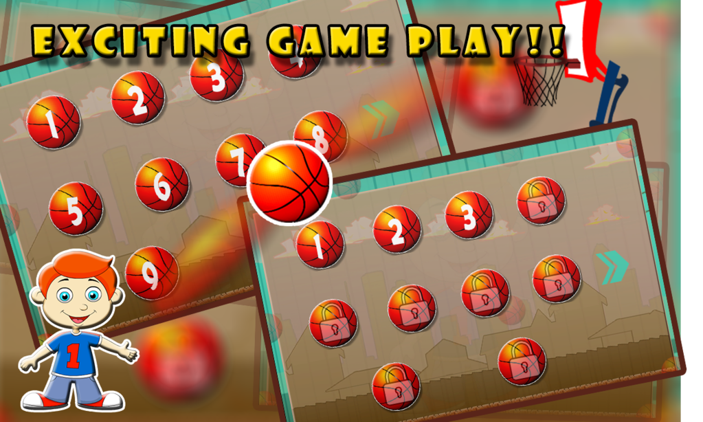 Basket Ball champ: Slam dunk Screenshot 2