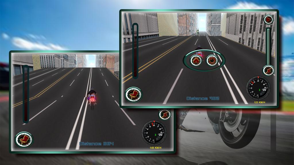 Speedy Moto Bike Rivals Racing Screenshot 4