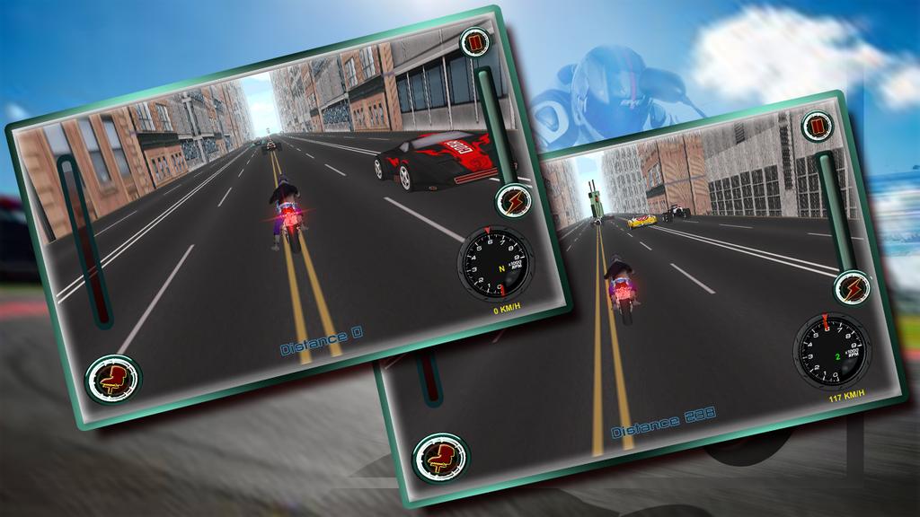 Speedy Moto Bike Rivals Racing Screenshot 3