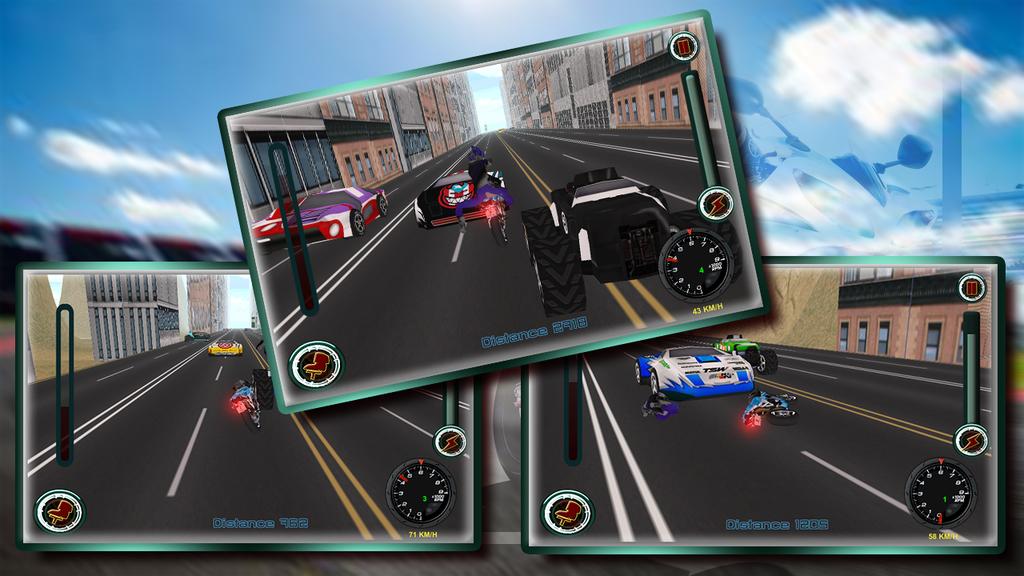 Speedy Moto Bike Rivals Racing Screenshot 7
