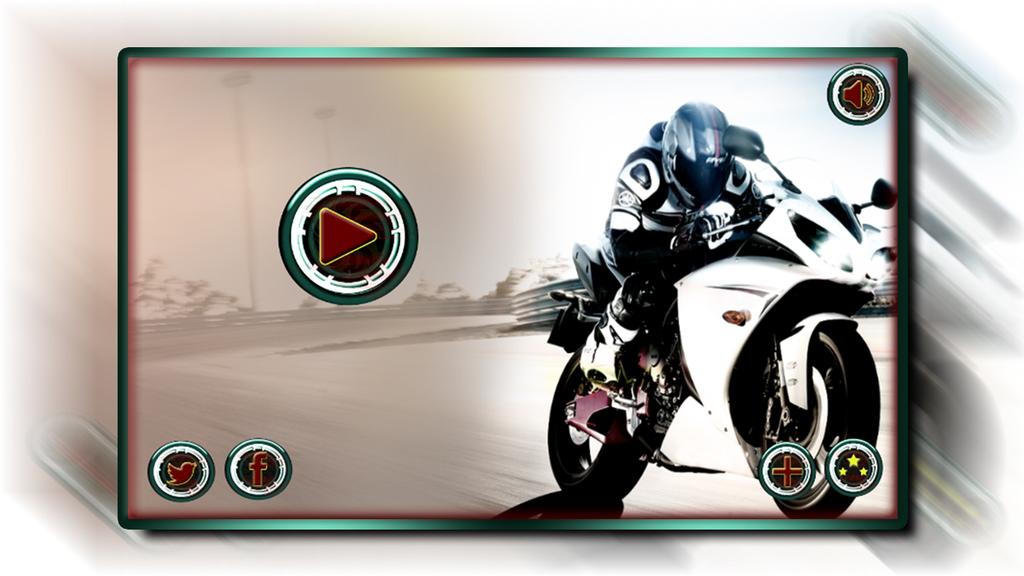 Speedy Moto Bike Rivals Racing Screenshot 1