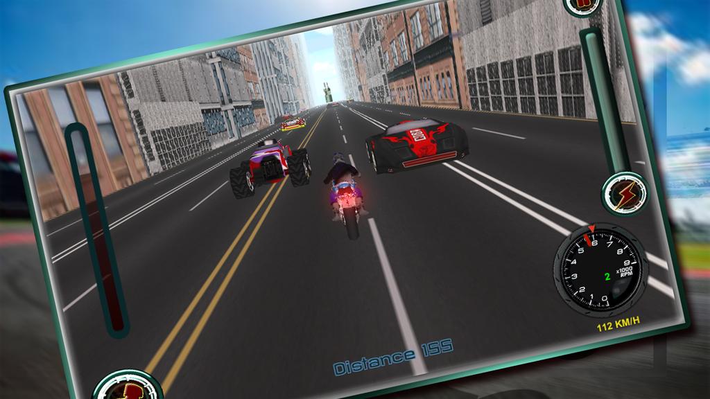 Speedy Moto Bike Rivals Racing Screenshot 6