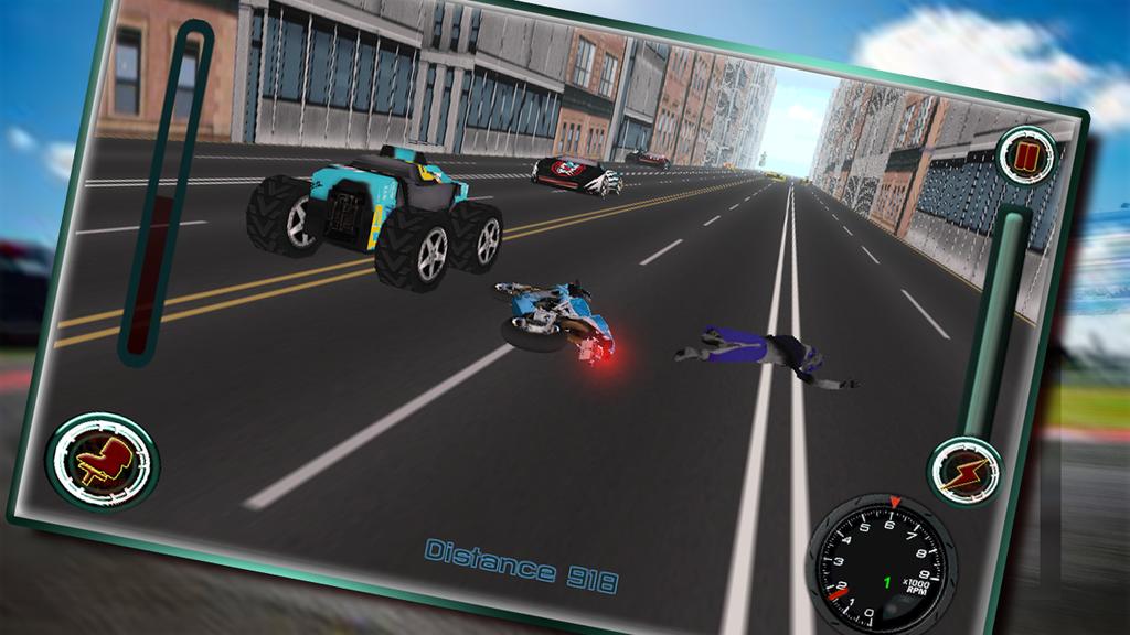 Speedy Moto Bike Rivals Racing Screenshot 5