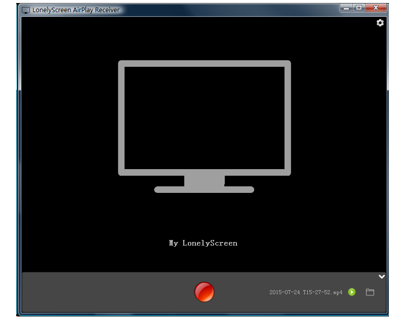 LonelyScreen AirPlay Receiver Screenshot 3