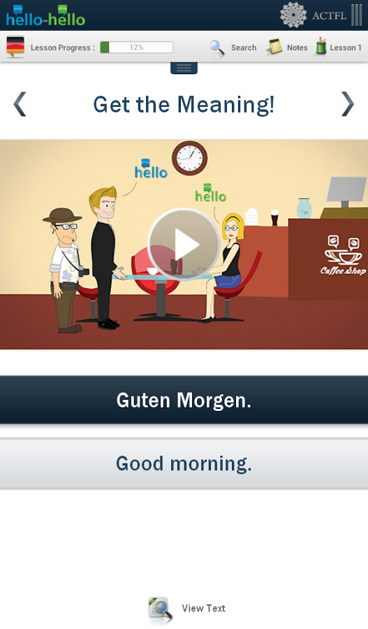 Learn German Hello-Hello Screenshot