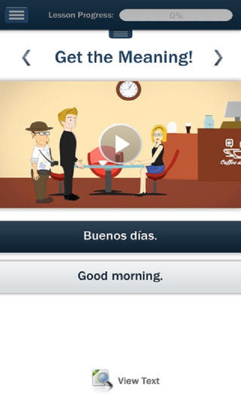 Learn Spanish Hello-Hello Screenshot 1