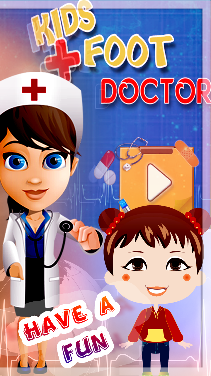 Baby Girl Foot Doctor Game Screenshot