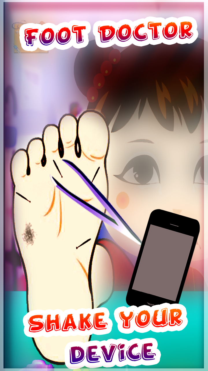Baby Girl Foot Doctor Game Screenshot 5