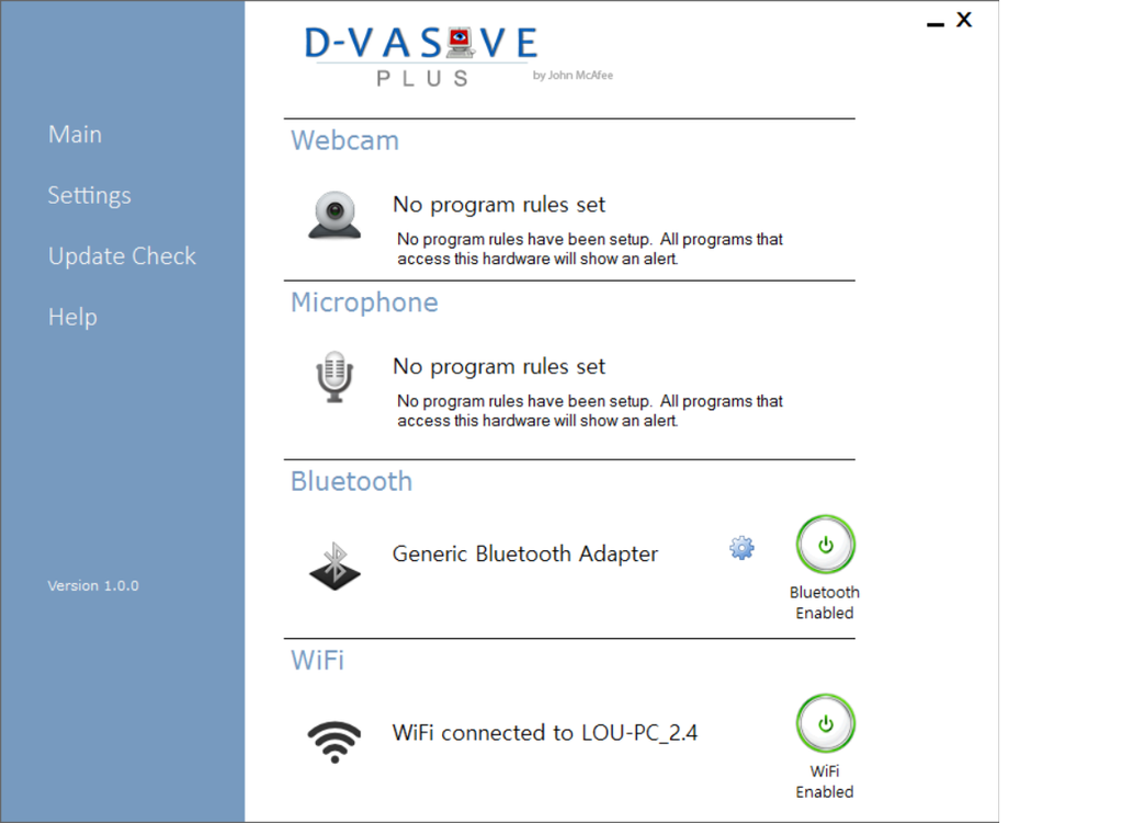 D-Vasive Plus Screenshot
