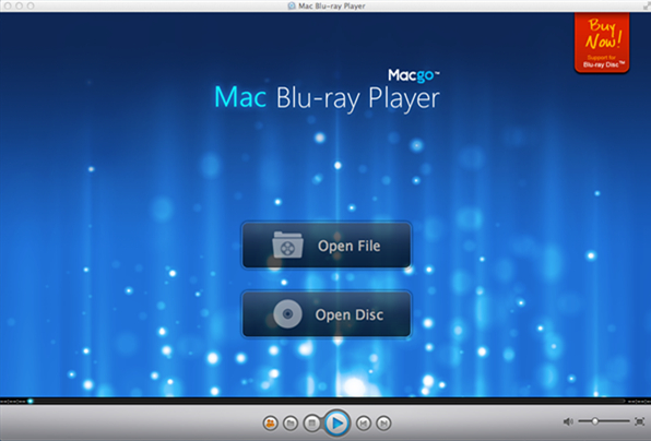 Macgo Mac Blu-ray Player Screenshot 1