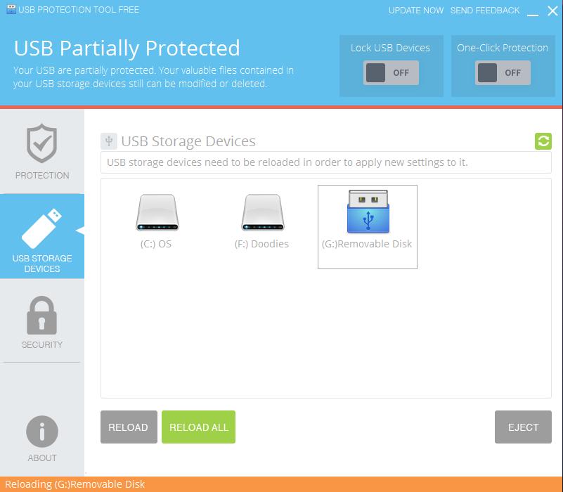 USB Protection Tool Screenshot 3