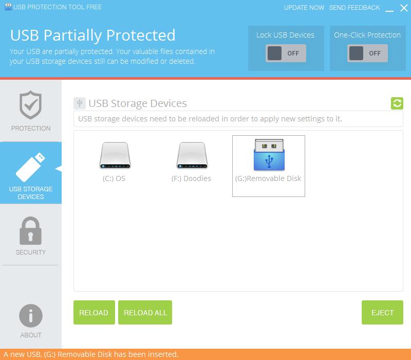 USB Protection Tool Screenshot 2