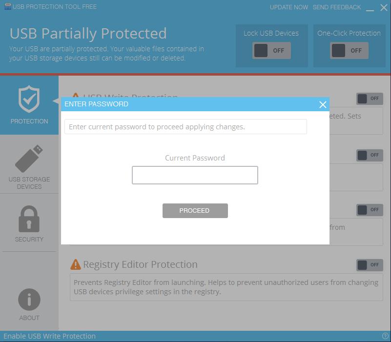 USB Protection Tool Screenshot 5