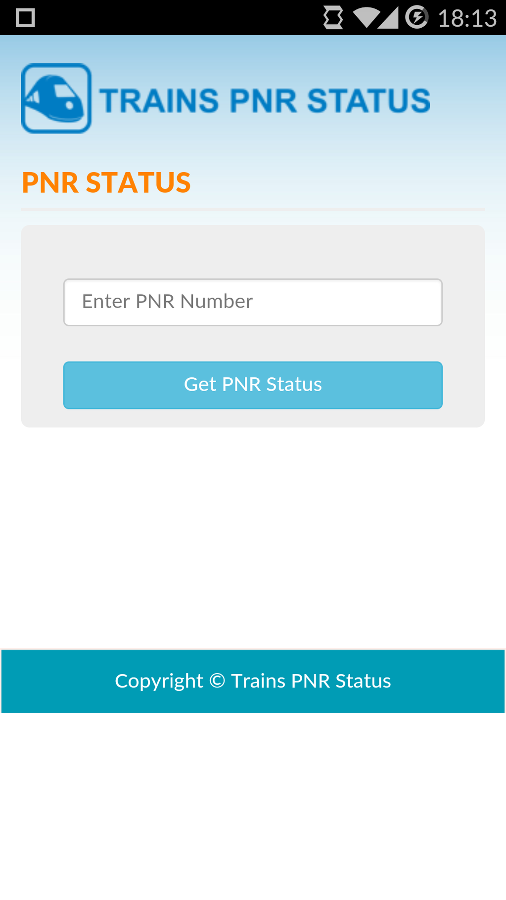 PNR Status Screenshot 6