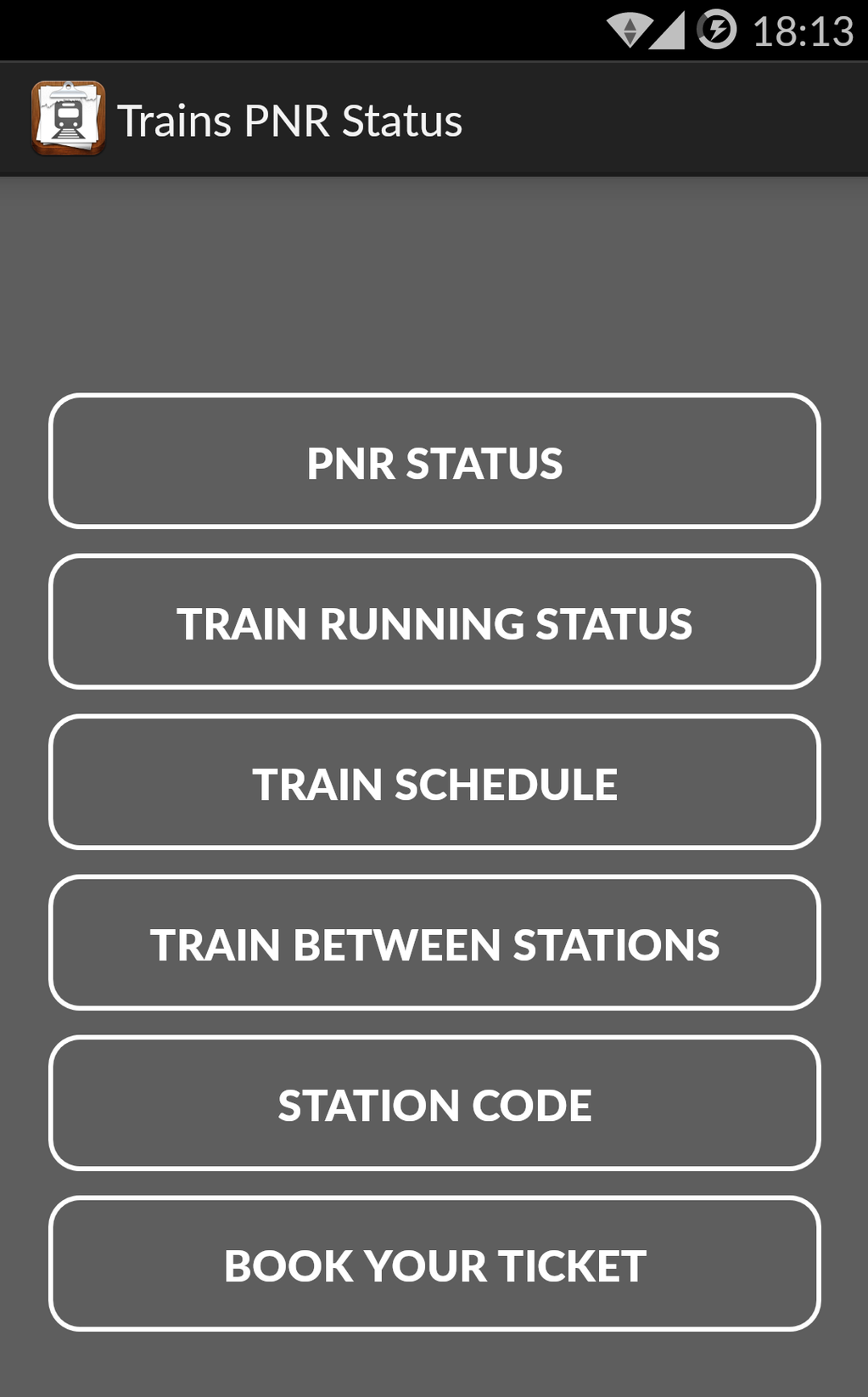 PNR Status Screenshot 4