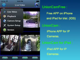 UnionCam for IOS Screenshot