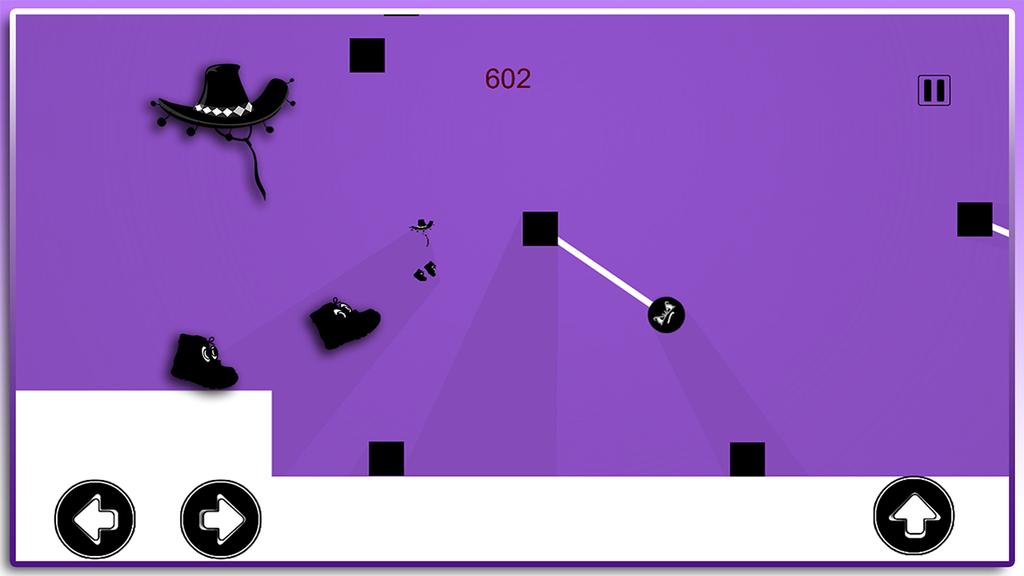 An Invisible cow boy Runner Screenshot 2