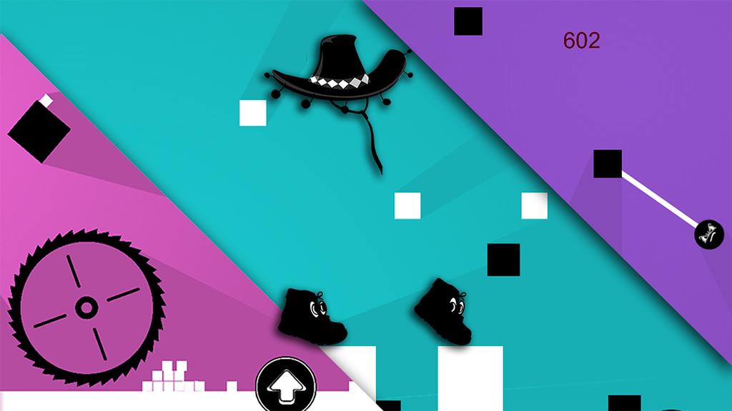An Invisible cow boy Runner Screenshot 3