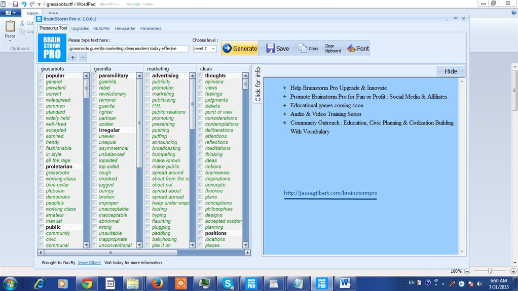 Brainstorm Pro Screenshot 5