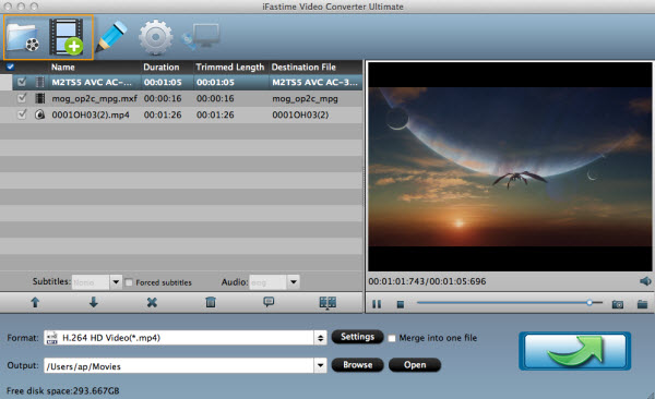 iFastime Video Converter Ultimate for Mac Screenshot