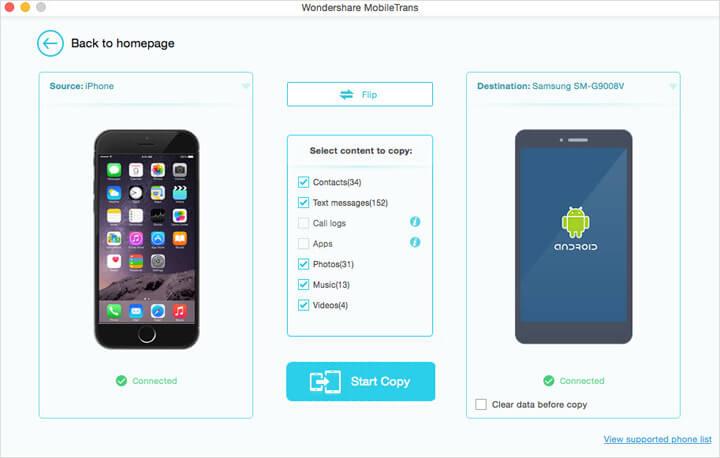 Wondershare MobileTrans for Mac Screenshot 6
