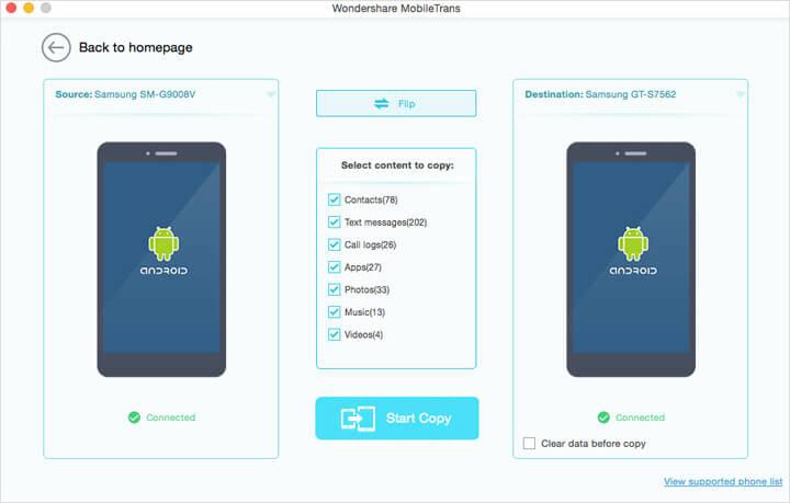 Wondershare MobileTrans for Mac Screenshot 4