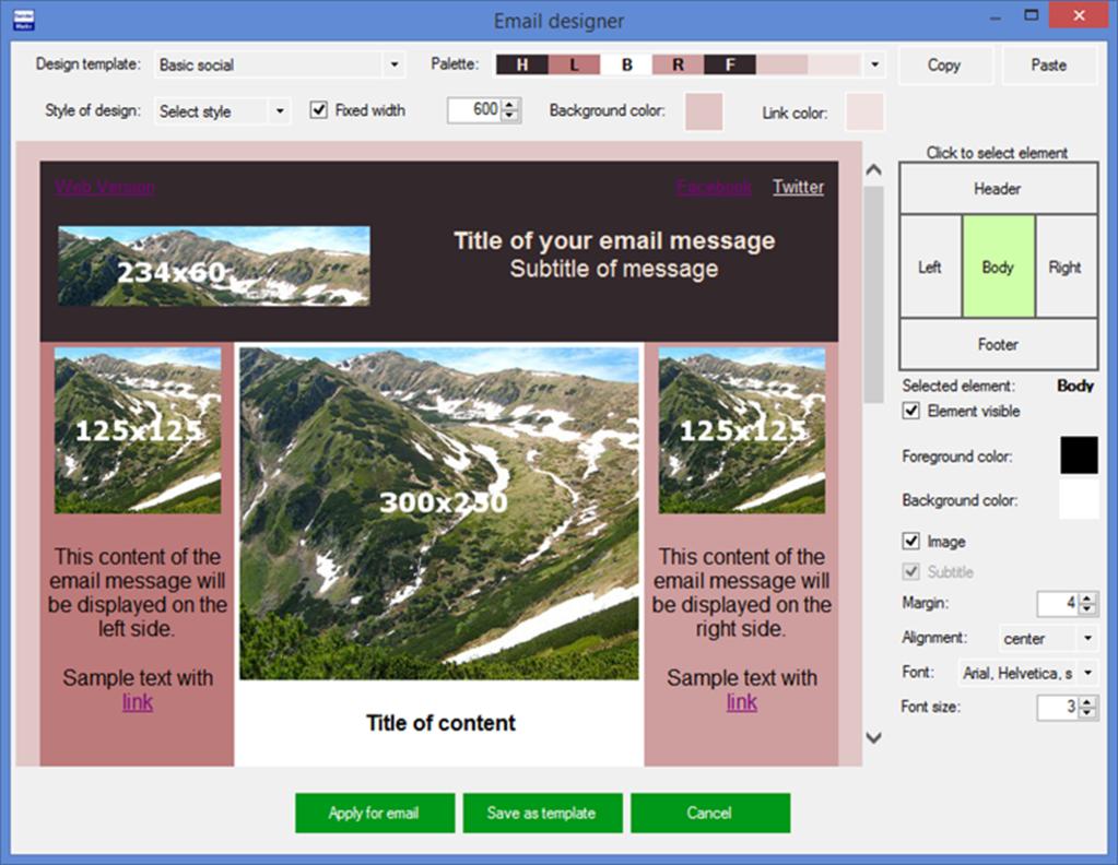 SenderMatic emailer Screenshot 2