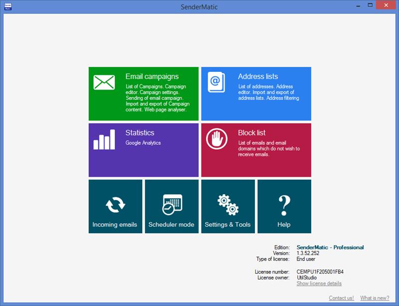 SenderMatic emailer Screenshot 3