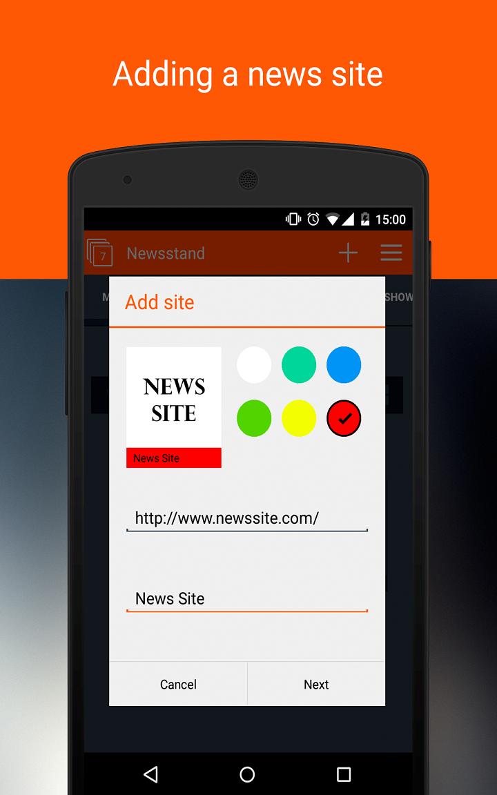 Newsstand: Screenshot 6