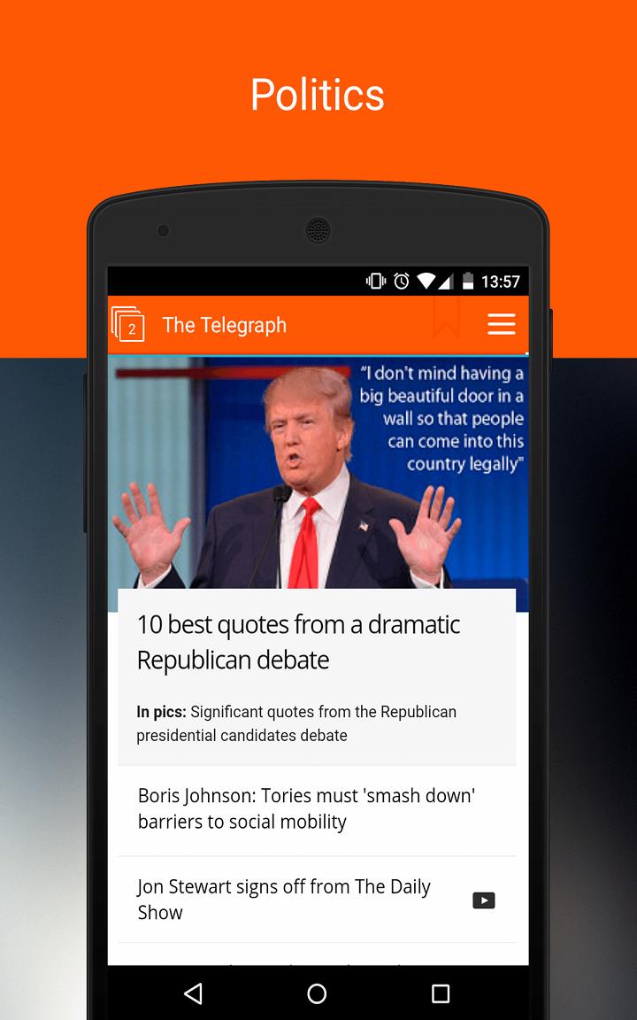 Newsstand: Screenshot 2