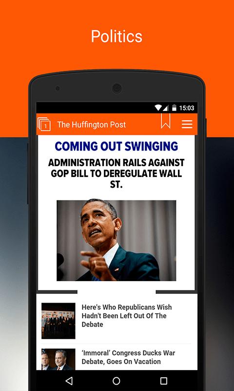 US News. Newsstand US Screenshot 4