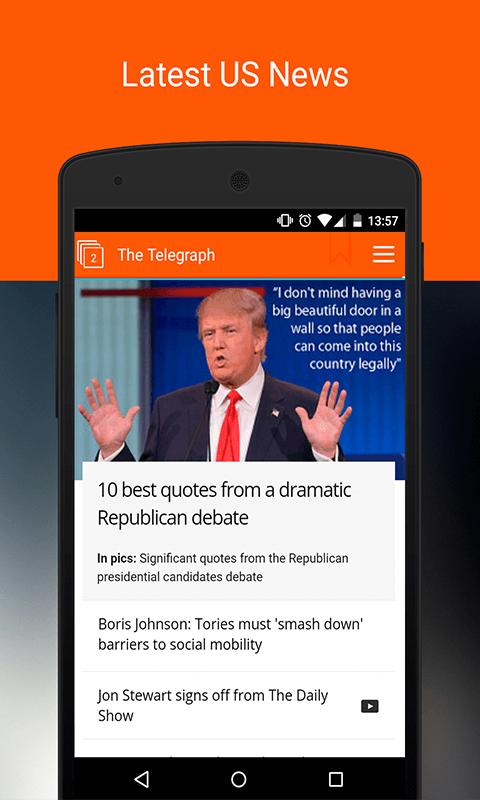 US News. Newsstand US Screenshot 2