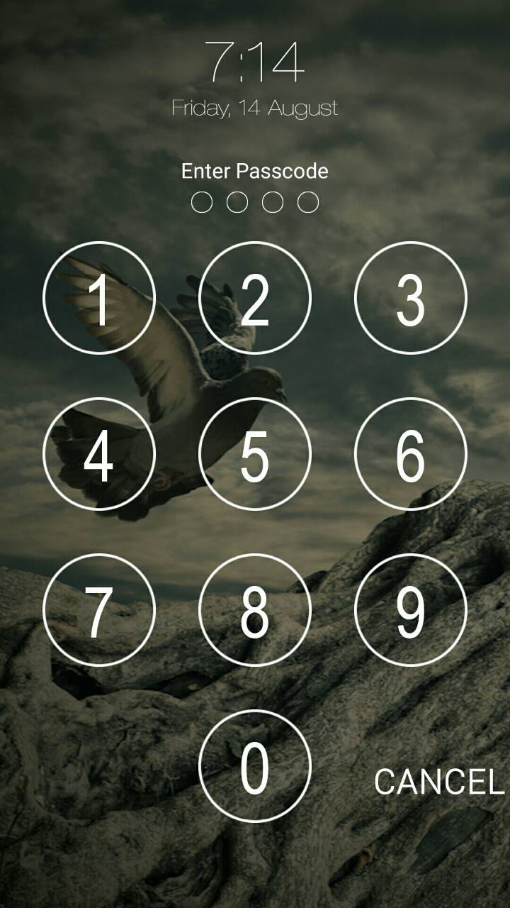 Keypad Lock Screen WatchDog Screenshot 4