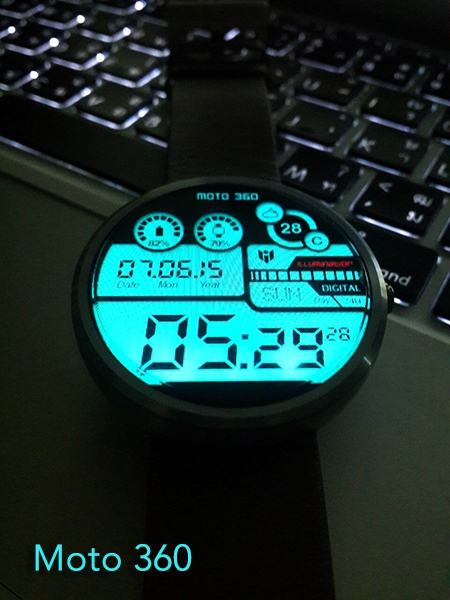 Hybrid 360 Digital Watch Face Screenshot 4