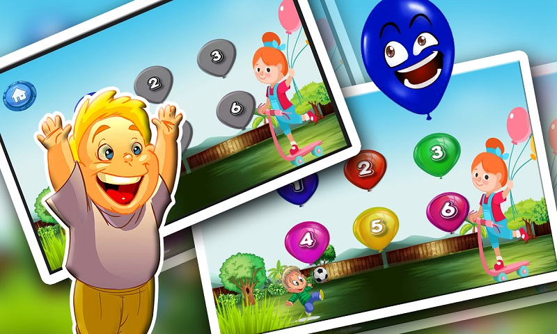 Ninja Baby Balloon Smasher hit Screenshot 4