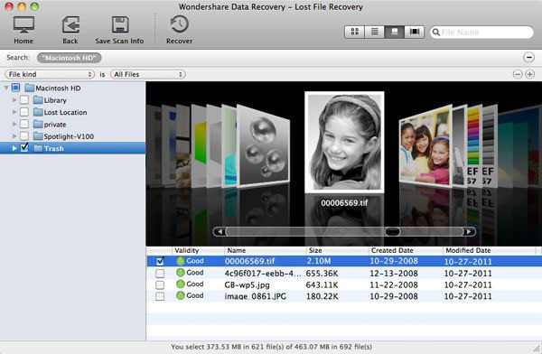 Wondershare Data Recovery for Mac Screenshot 3
