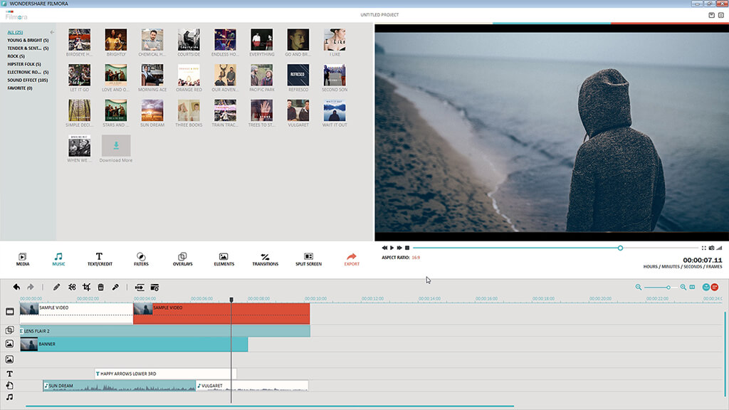 Wondershare Video Editor for Mac Screenshot 1